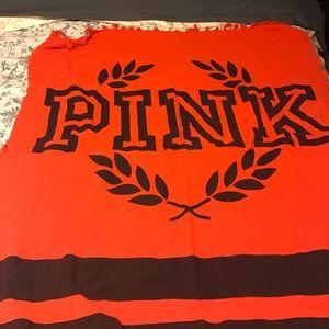 PINK Victoria's Secret Other - PINK orange and blue blanket