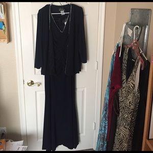 Alex Evenings Dresses & Skirts - 2 piece evening dress and jacket. Euc. Size 20W.