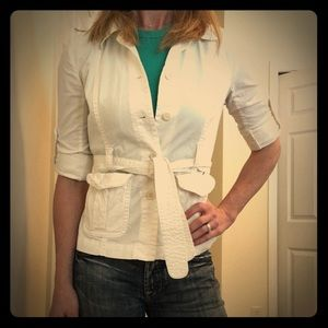 J. Crew Jackets & Blazers - JCrew size 2 cotton jacket