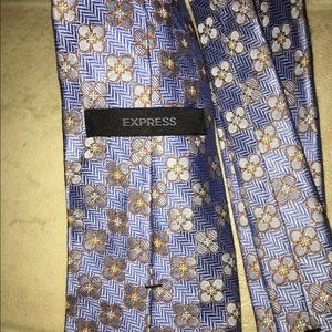 Accessories - Men's EXPRESS Blue Tie