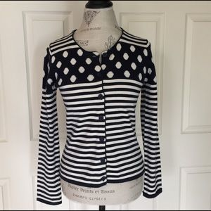Anthropologie Sweaters - Final PriceAnthropologie Dots & Stripes Cardi