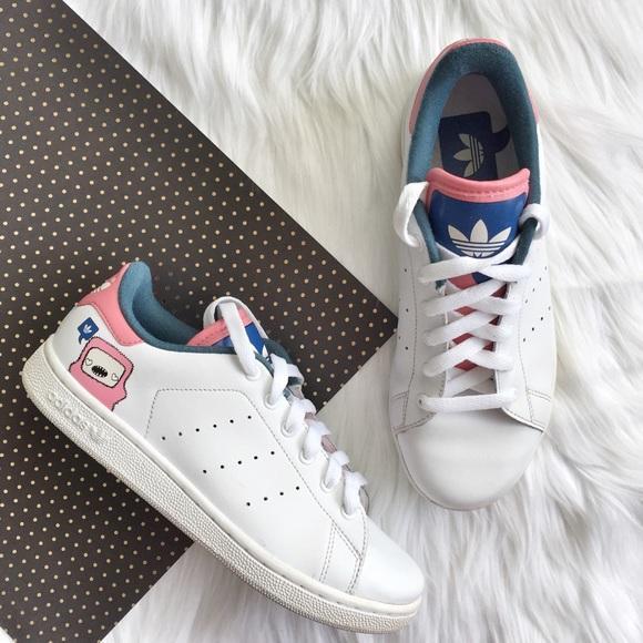 new style 3a787 22982 Adidas Stan Smith Retro Adikids Size 4.5Y