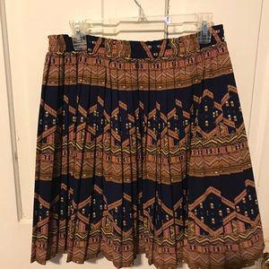 Anthropologie Edme & Esyllte pleated skirt Medium