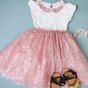 Other - Toddler sequins gown,toddler girl dress,girl dress