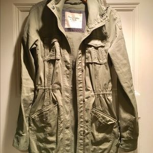 Abercrombie & Fitch Cotton Utility Jacket S