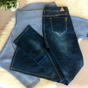 Bianco Boot Cut Jeans Dark Wash
