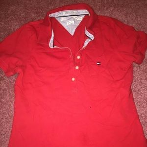Tommy Hilfiger polo type top Sz large