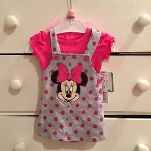 Disney Other - 🎉HP 4/2/17🎉 Minnie Jumper Set