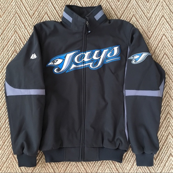 release date 090cf c6dbf Majestic Toronto Blue Jays Heavy Zip Jacket - Sz M