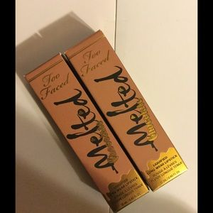 Too Faced Other - Too Faced Melted Chocolate Lipstick-2 NIB