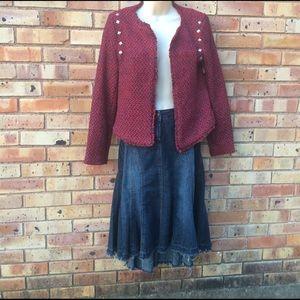 Tweed jacket sz S