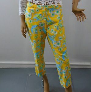 Lilly Pulitzer Pants - Les Monkeys Lilly Pulitzer Crop Stretch Pants