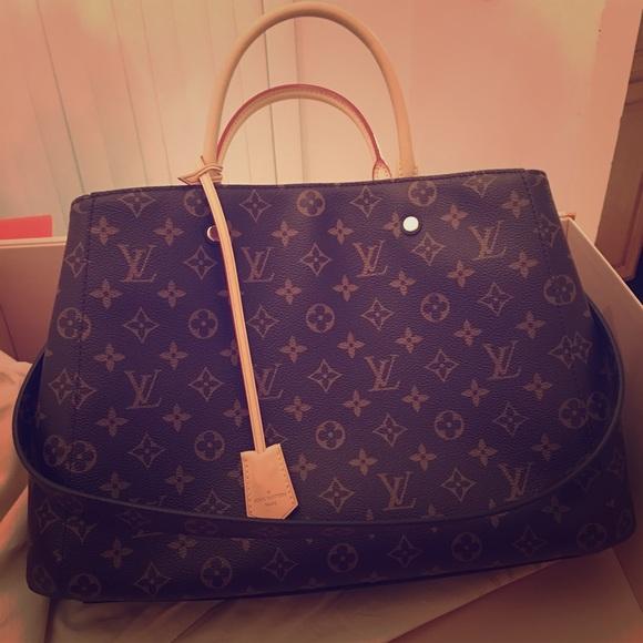 ef3018bc1b1c Louis Vuitton Handbags - Louis Vuitton Montaigne GM monogram canvas