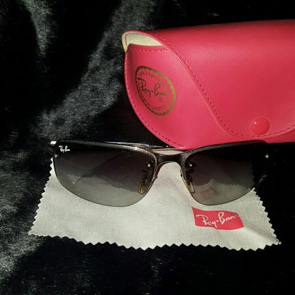 50132ffefa0e Ray-Ban Accessories   Ray Ban Sidestreet Rb 3239 Silver Sunglasses ...