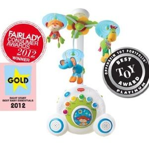 Tiny love baby mobile boys blue