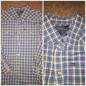 Ralph Lauren Western Shirt