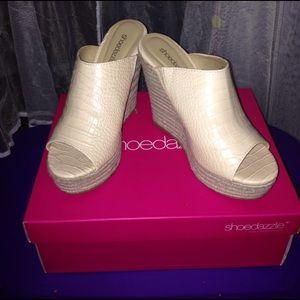 shoedazzle Shoes - ShoeDazzle Ginger Wedges