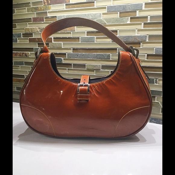 f6520d86 Authentic Vintage Prada Patent Leather Bag