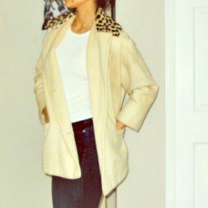 Cheetah VINTAGE coat size S-L