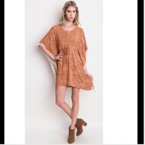 Umgee Dresses & Skirts - Boutique Sale! Casual Tassel Dress by Umgee 🏈