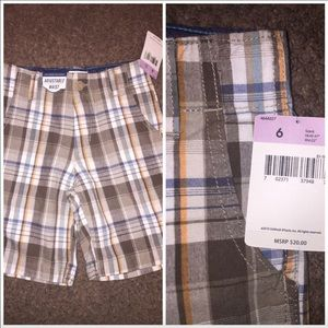 OshKosh Plaid Shorts