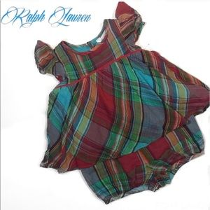 Ralph Lauren Other - ✨SALE✨NWT Ralph Lauren Two Piece Plaid Dress