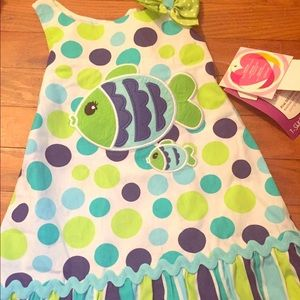 Youngland Other - NWT! Toddler Fish dress