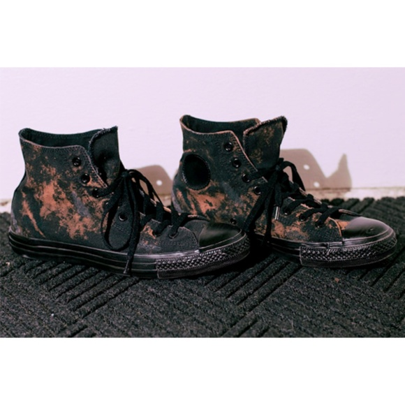 f3d04027871b7 Converse Shoes | Acid Wash Black Urban Outfitter Exclusive | Poshmark