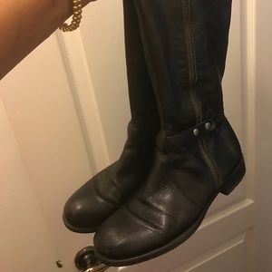 Franco Sarto Shoes - Franco Sarto black leather boots