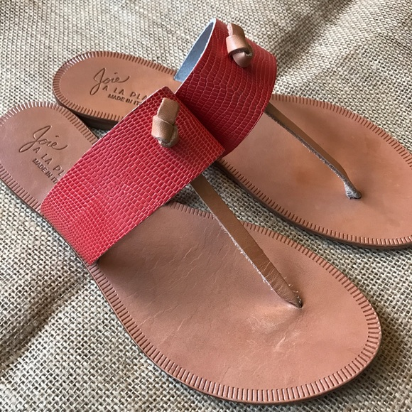 11f2d333b2af33 Joie Shoes - JOIE a la plage Vero Cuoio Nice Knot Sandals