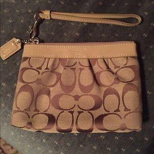 Coach Handbags - EUC* Authentic COACH wristlet