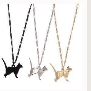 Twilight Gypsy Collective Jewelry - Hexagonal Kitty Necklaces