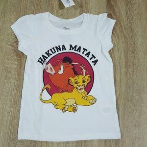 Disney Other - Disney The Lion King Hakuna Matata shirt, sz 3T