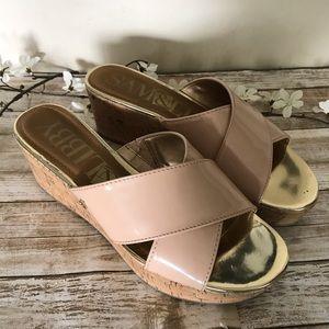 Sam & Libby Shoes - Sam & Libby  wedges  open toe SZ 8 sandals
