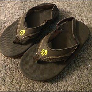Reef Other - Reef kids Slap II sandals size 9/10