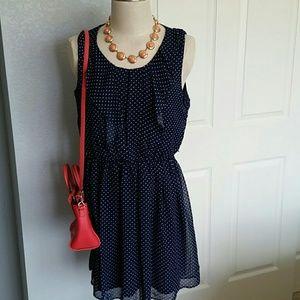 2/$10 or 3/$16 Iz Byer Polka Dot Dress