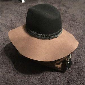 Zara Interwoven Two-Tone Hat BNWT