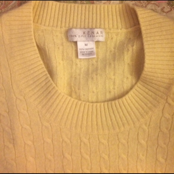 82% off Kenar Sweaters - Super soft cashmere sweater in pale ...