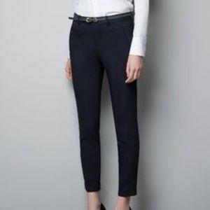 Zara Basic Black Pants - Size 2