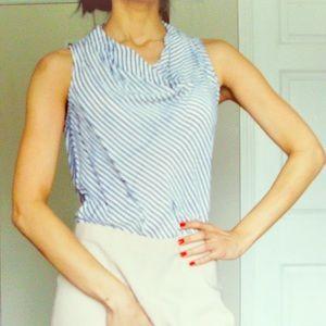 Banana Republic striped sleeveless tunic size XS