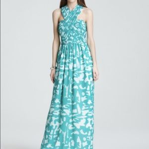 Shoshanna Dresses & Skirts - Shoshanna Long Marielle Silk Maxi Dress