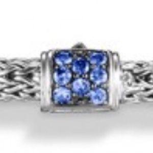 John Hardy Jewelry - JOHN HARDY bracelet blue sapphire 5mm classicchain