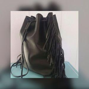 Victoria's Secret Handbags - Victoria Secret Fringe Backpack