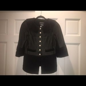 Chanel Wool and Mesh Jacket