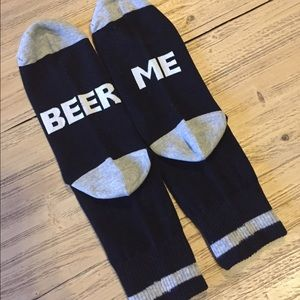 Other - New men's Beer Me 🍺 socks. Awesome gift