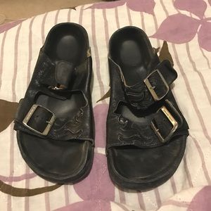Isabel Marant Black Gail Sandals 37