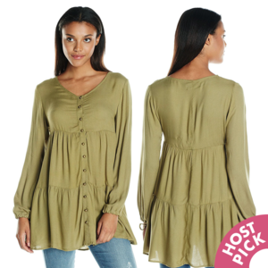 ⚡PRICE DROP⚡ MINKPINK Olive Boho Tunic Dress NWT