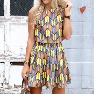 Dresses & Skirts - Geometric 2 - Piece Set