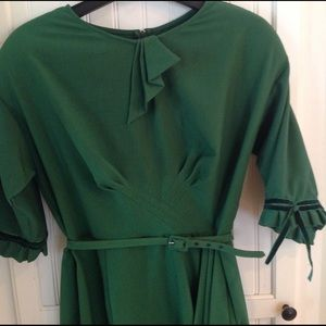 Stop Staring Dresses & Skirts - Stop Starring Gorgeous Emerald Green dress