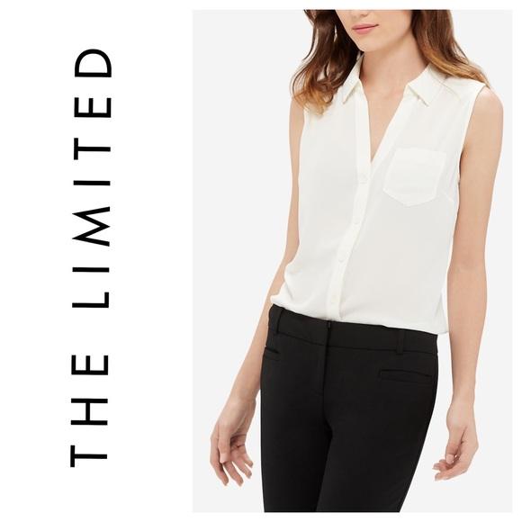 5e7e270bbc8b7  the limited  sleeveless ashton blouse top